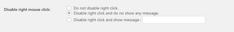 Configurações para desabilitar o botão direito do mouse no WordPress