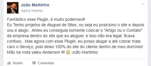 Depoimento do João Martinho sobre o plugin Fiat Linx